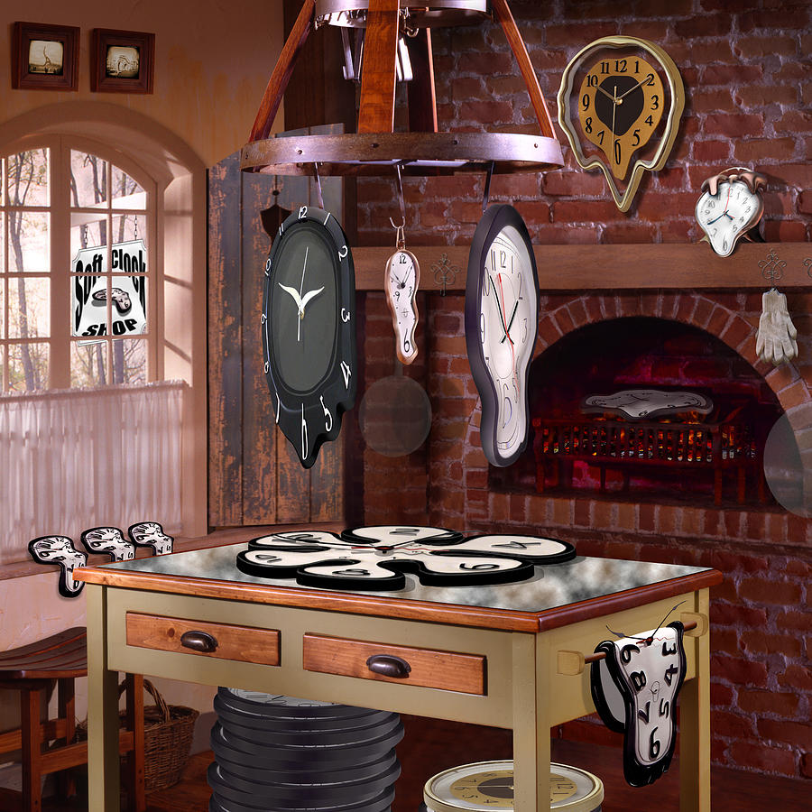 The Soft Clock Shop 3 Photograph