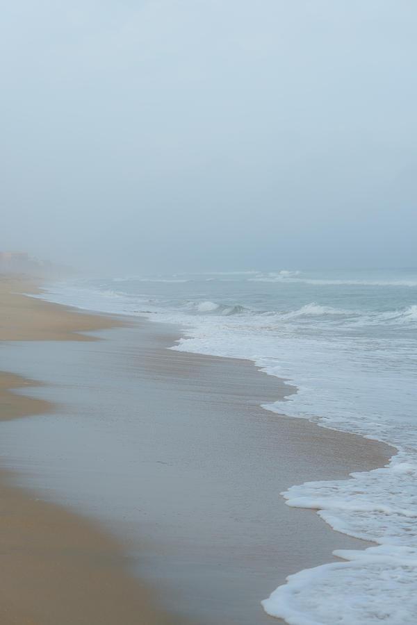 Seascape Photograph - The Soft Sea by Joseph Smith