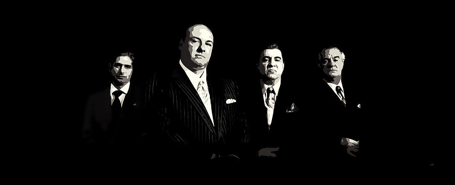 Sopranos Painting - The Sopranos by Laurence Adamson