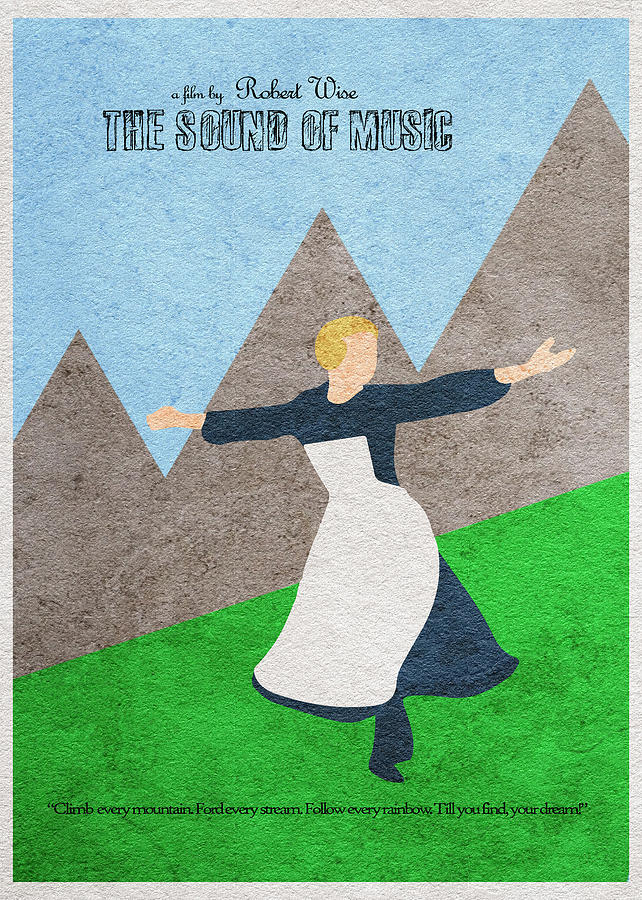 The Sound Of Music Painting - The Sound Of Music by Inspirowl Design