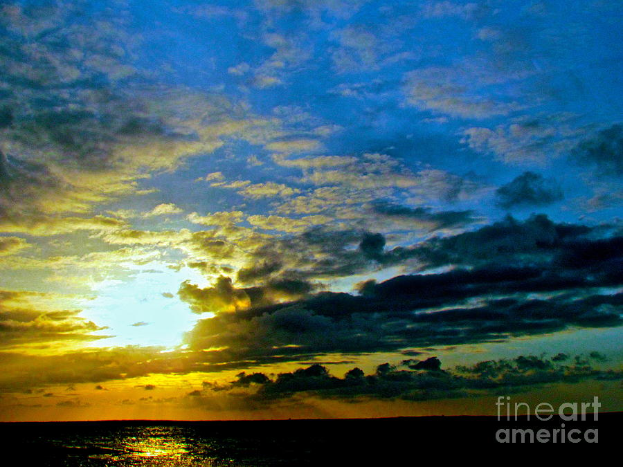 Sunset Photograph - The Sound Of Sky by Qs House of Art ArtandFinePhotography