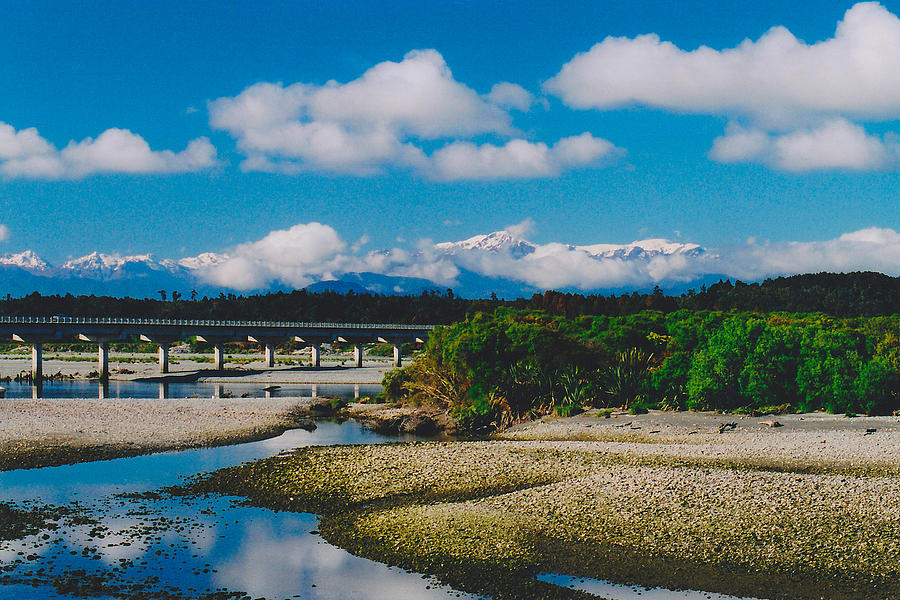 New Zealand Photograph - The Southern Alps by Jon Emery