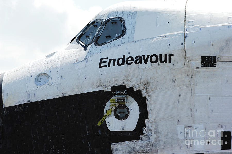 Cockpit Photograph - The Space Shuttle Endeavour 2 by Micah May