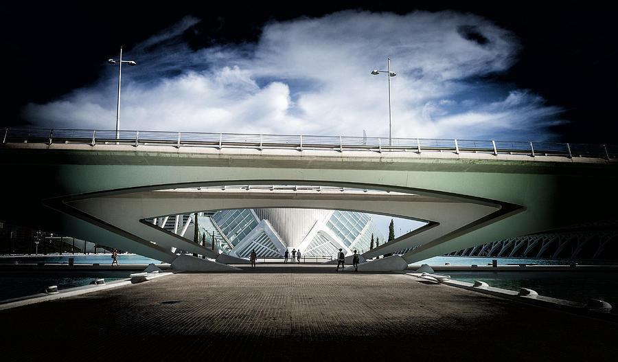 Spaceship Photograph - The Spaceship by Herbert Seiffert
