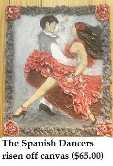 The Spanish Dancers  Painting by Shay Kelley