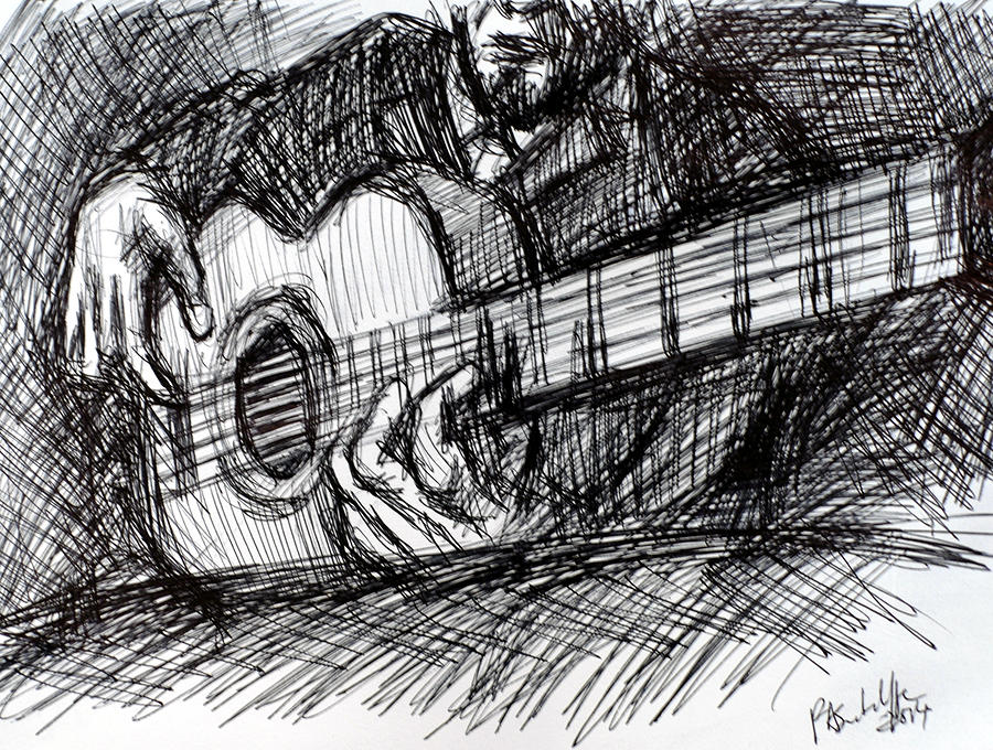 The Spanish Guitarist by Paul Sutcliffe