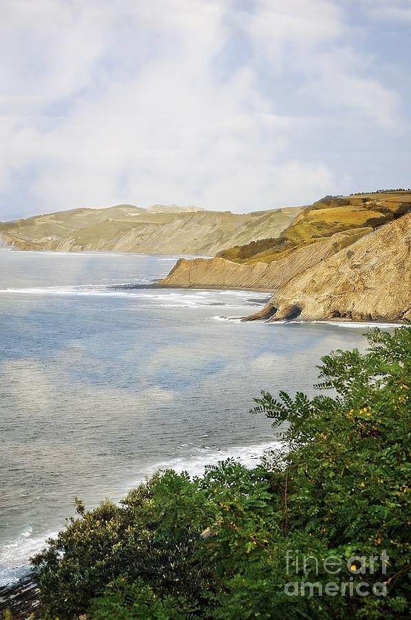 The Spanish North Coast Photograph - The Spanish North Coast by Mary Machare