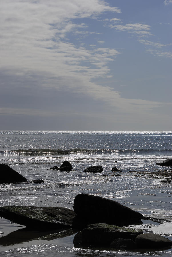 The Photograph - The Sparkling Sea by Wendy Wilton