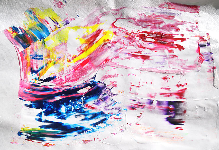 Abstract Painting - The Special One by Dmitri Matkovsky