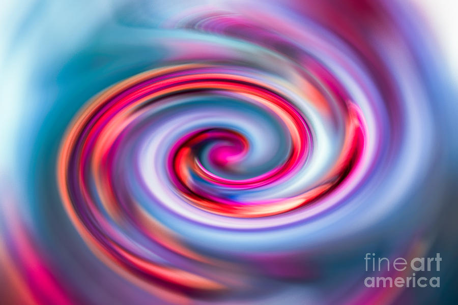 Abstract Photograph - The Spiral by Hannes Cmarits