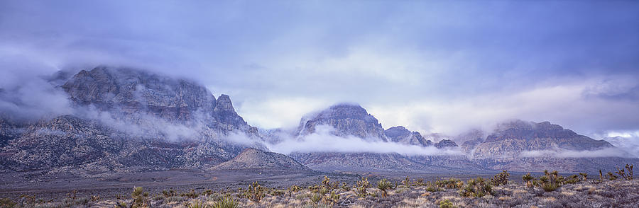 # Red Rock Canyon Photograph - The Spirit Of Red Rock Canyon by Tony Santo