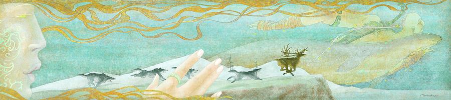Northwest Wind Digital Art - The Spirit Of The North-west Wind by Dmitry Rezchikov