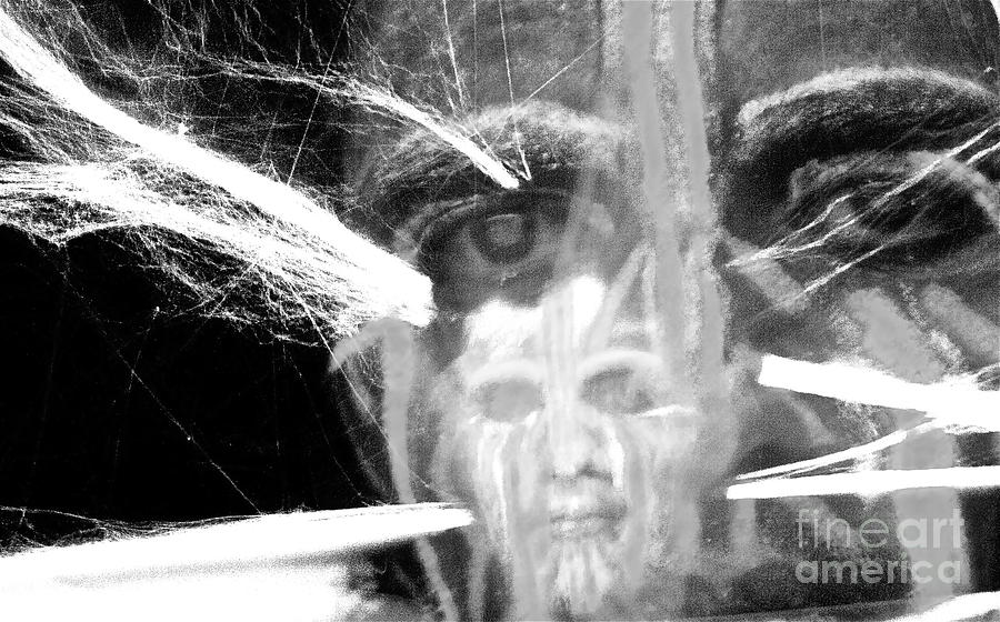 Hallucination Photograph - The Spirit Within by Xn Tyler
