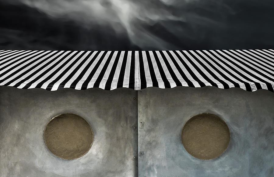 Abstract Photograph - The Spiritual Cabin by Gilbert Claes