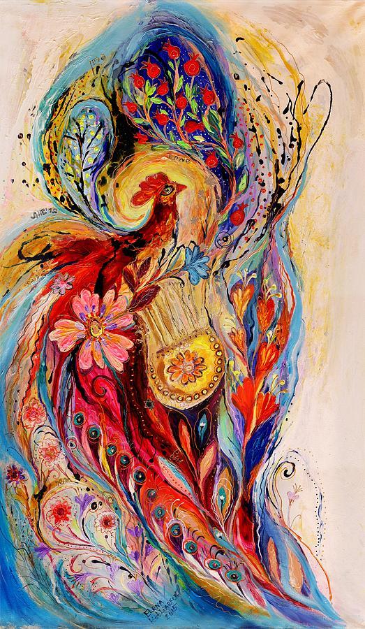 Judaica Store Painting - The Splash Of Life 6 by Elena Kotliarker