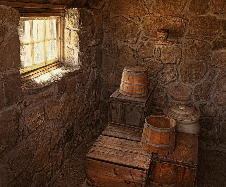 Still Life Photograph - The Spring House by Pat Abbott