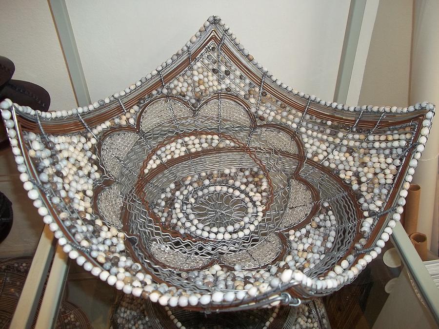 The Sqaure Bowl Ceramic Art by Nick  Jaji