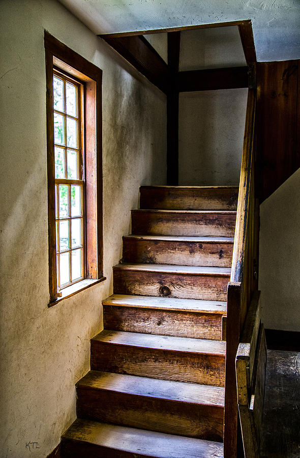 Stairs Photograph - The Stairs by Karol Livote