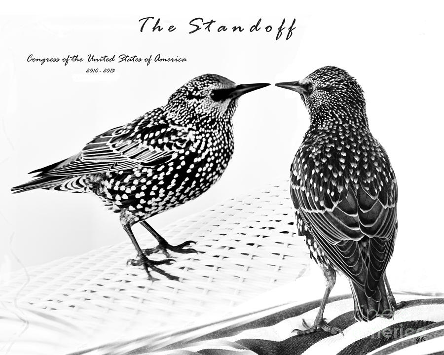 America Photograph - The Standoff  Congress Of The United States Of America   by Gerlinde Keating - Galleria GK Keating Associates Inc