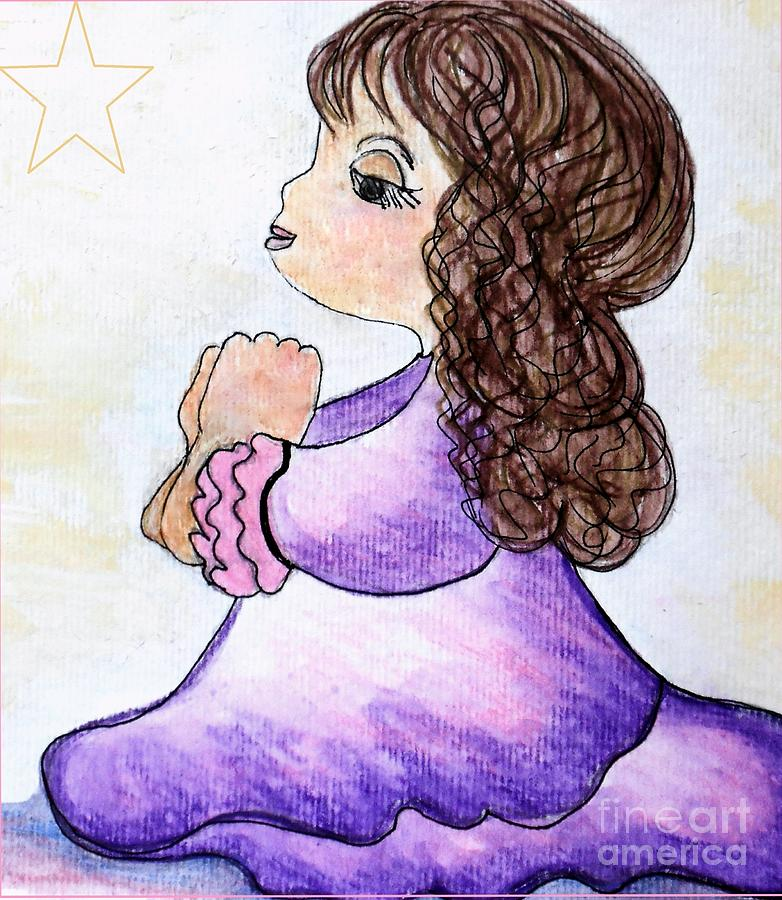 Christmas Painting - The Star Still Shines by Eloise Schneider