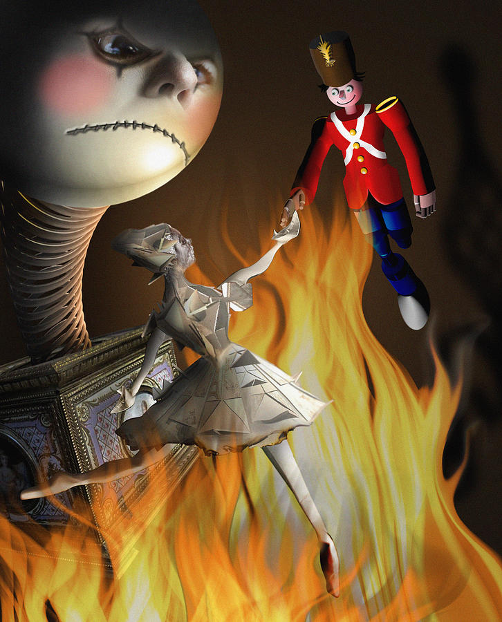 the steadfast tin soldier the envy digital art by