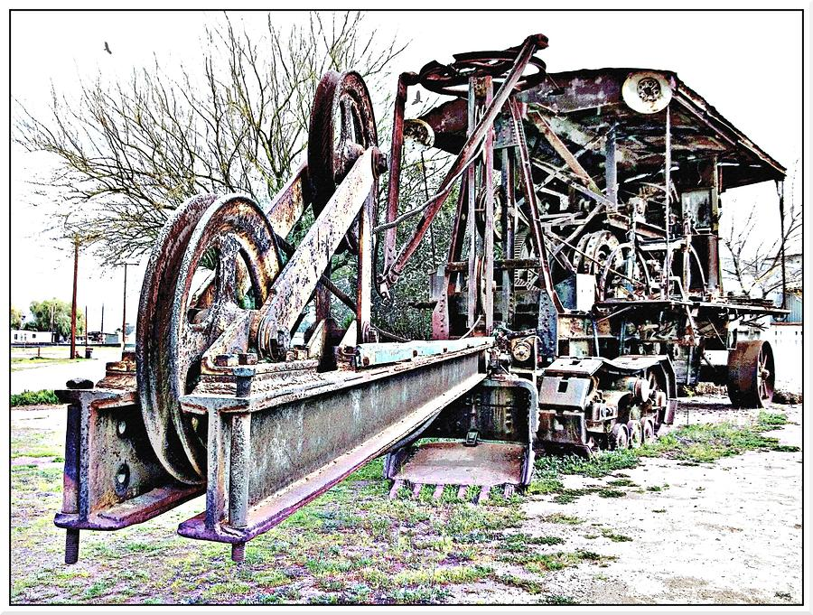 Railroad Photograph - The Steam Shovel by Glenn McCarthy Art and Photography