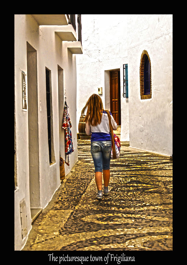 Spain Photograph - The Steets Of Friglianna by Matthew Laming