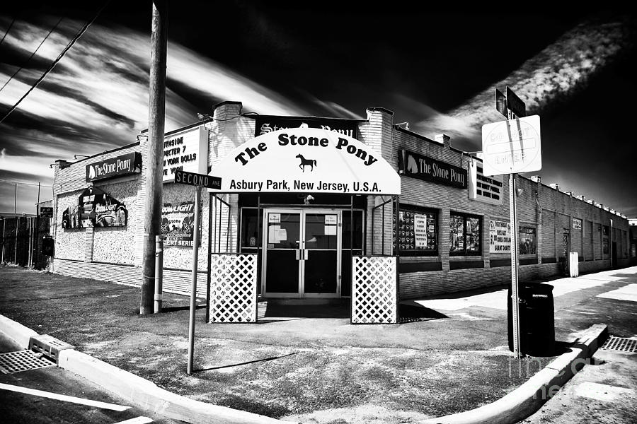 Stone Pony Photograph - The Stone Pony by John Rizzuto