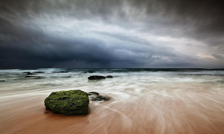 Beach Photograph - The Storm by Jorge Maia
