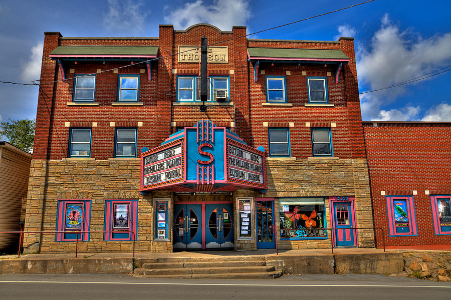 the strand theatre in old forge new york photograph by david patterson. Black Bedroom Furniture Sets. Home Design Ideas