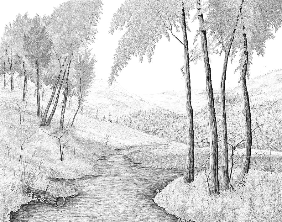 The Stream by Carl Genovese