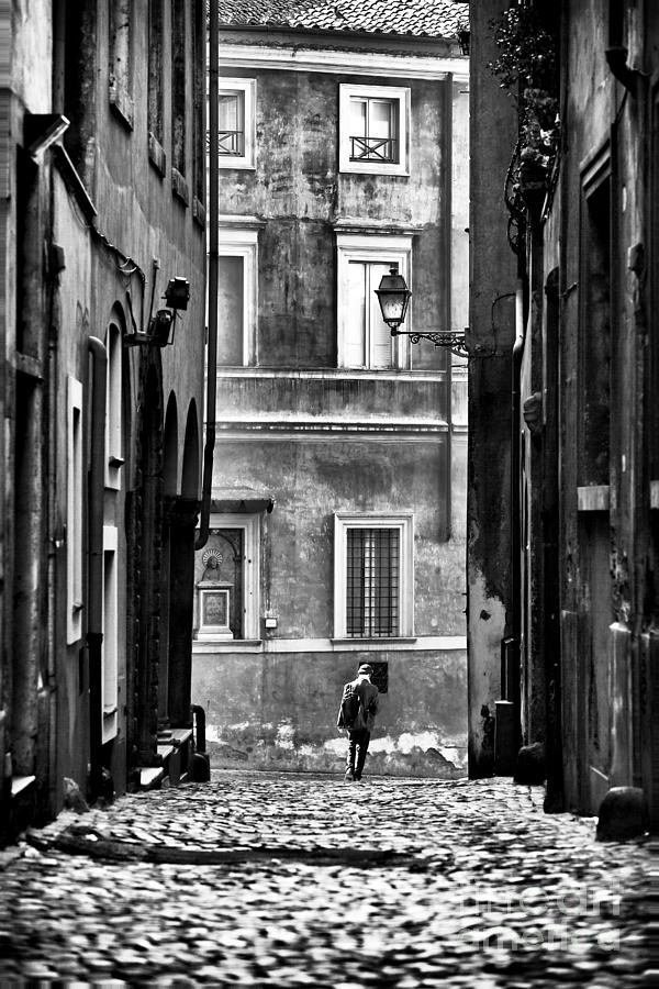 Streets Of Roma Photograph - The Streets Of Roma by John Rizzuto