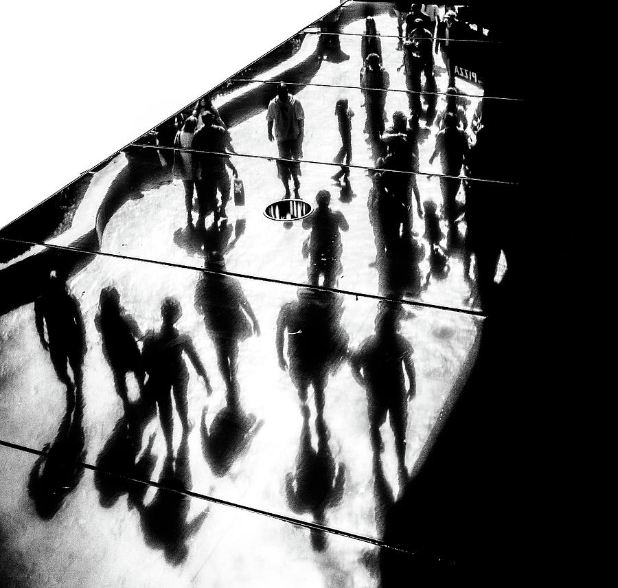 Bw Photograph - The Strip by Pawel Majewski