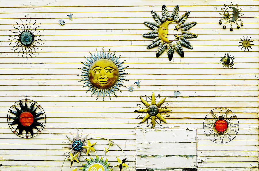 Sun Photograph - The Sun Moon And Stars by Pamela Patch