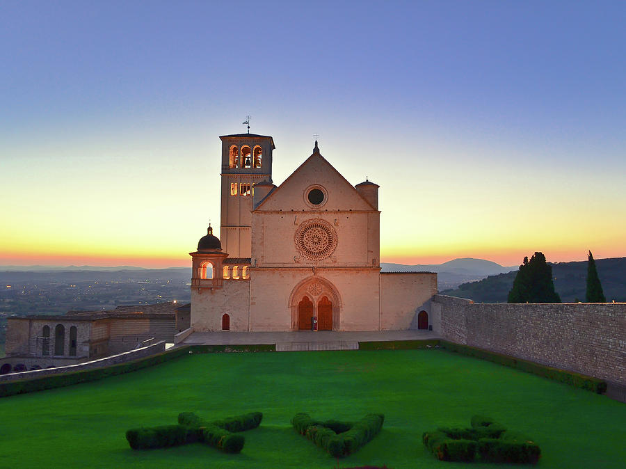The Sun Sets Behind St. Francis Photograph by Sir Francis Canker Photography