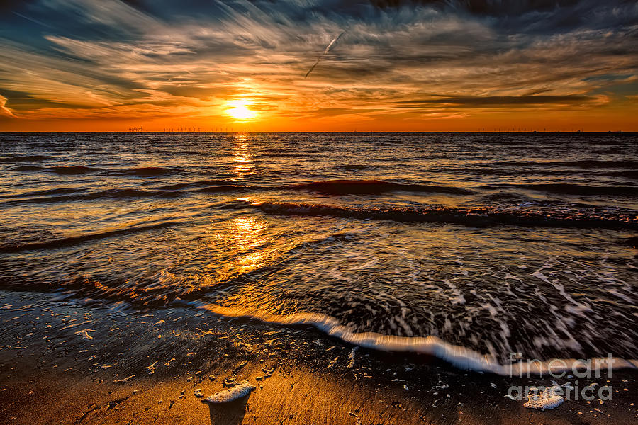 British Photograph - The Sunset by Adrian Evans