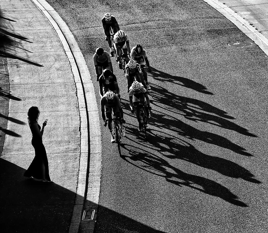 Cycling Photograph - The Supporter by Lou Urlings