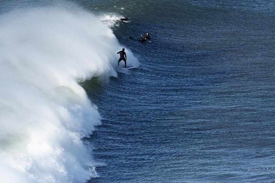 Ireland Photograph - The Surfer  by Aidan Moran