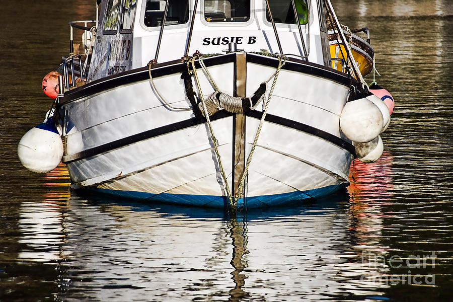 Boat Photograph - The Susie B  by Susie Peek