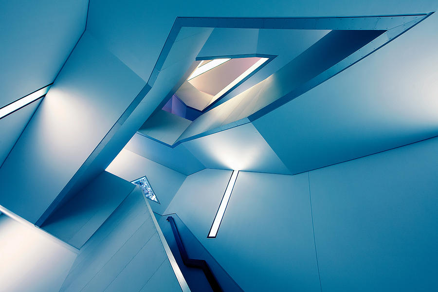 Architecture Photograph - The Symphony Of The Lines by Roland Shainidze
