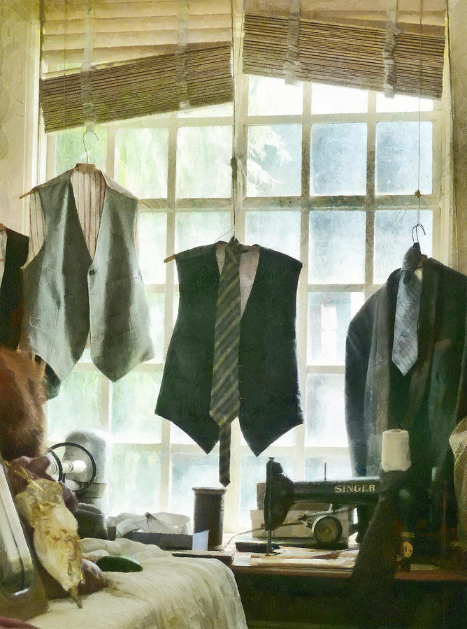Tailor Photograph - The Tailor Shop by Steve Taylor