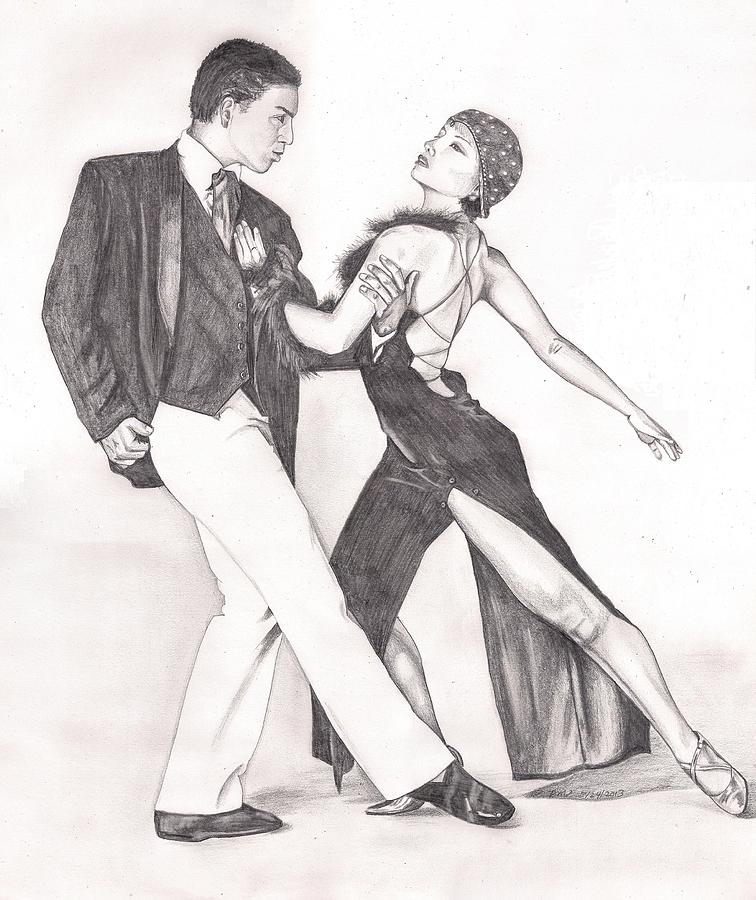 Tango Painting - The Tango by Beverly Marshall