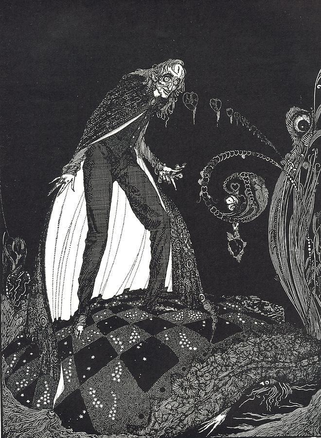 Harry Drawing - The Tell Tale Heart by Harry Clarke