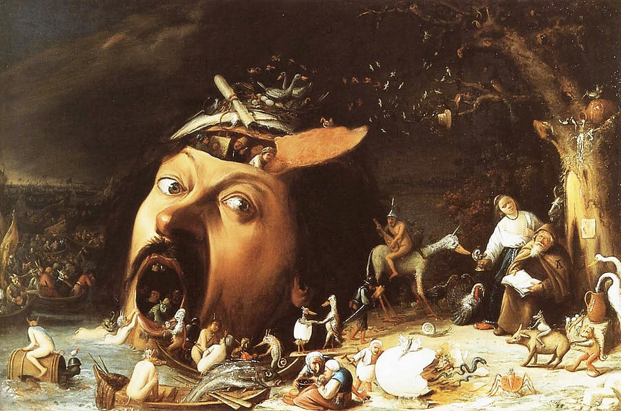 The Temptation Of St Anthony by Joos van Craesbeeck