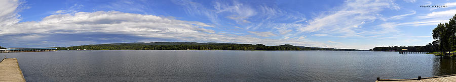 Tennessee River Photograph - The Tennessee River In Alabama by Verana Stark