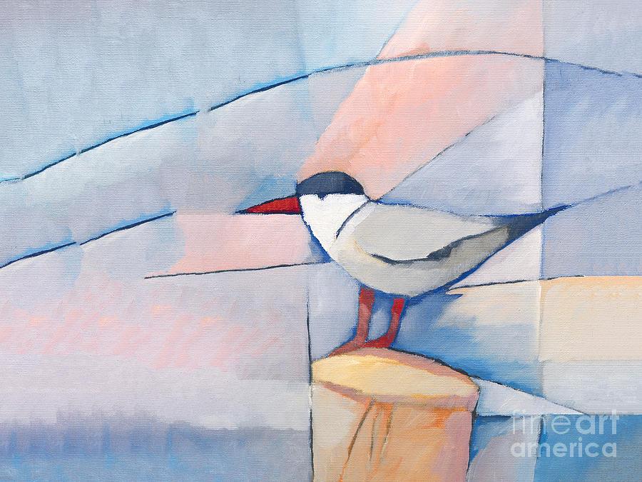 The Tern Painting - The Tern by Lutz Baar