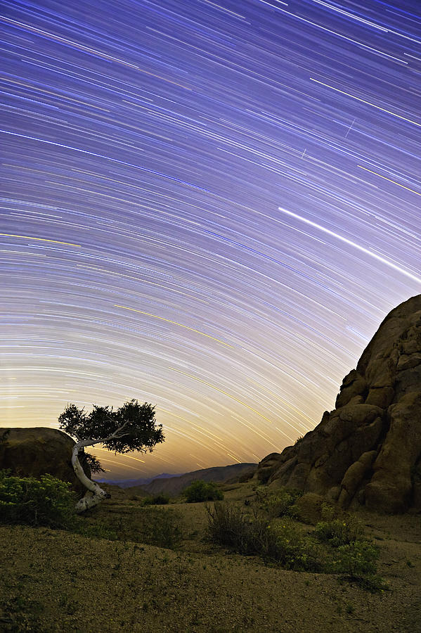 Milkyway Photograph - The Test Of Time by Basie Van Zyl