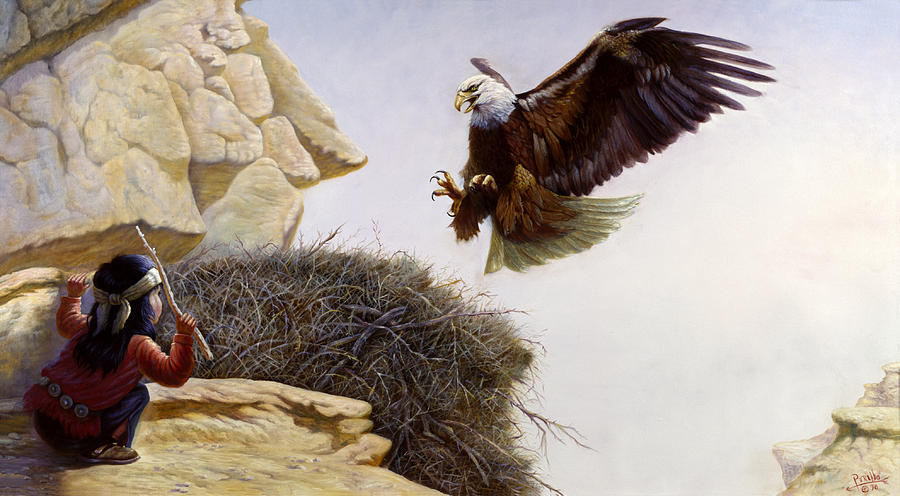 Gregory Perillo Painting - The Thief by Gregory Perillo