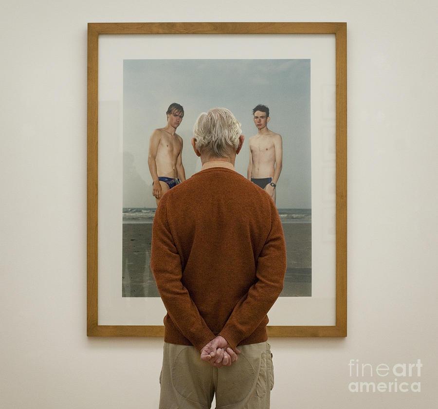 Rineke Dijkstra Photograph - The Third Boy by Michel Verhoef