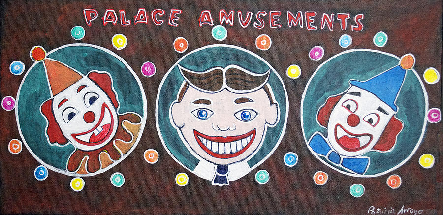Asbury Park Painting - The Three Amigos by Patricia Arroyo